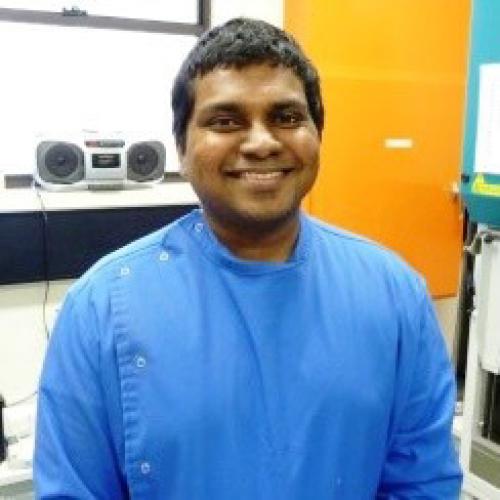 AMSI scholarship recipient profile: Sasdekumar Loganthan
